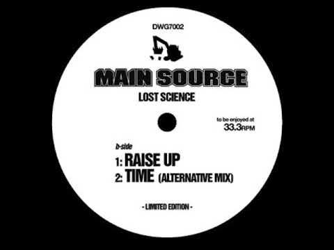 Main Source ‎– Time (Alternative Mix) [HQ]