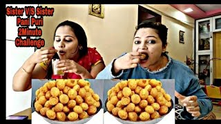 golgappa eating challenge
