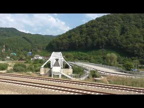 Сочи-Краснодар на поезде за 40 минут