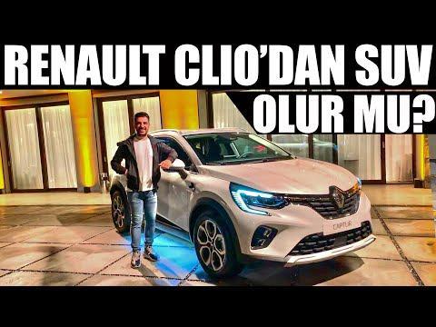Renault'un Yeni Küçük SUV'u Captur