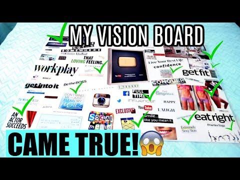 MY VISION BOARD CAME TRUE! | Vision Board Manifesting SUCCESS! 2018 Mp3