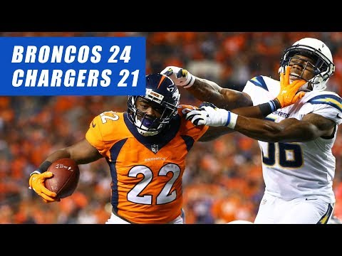 Broncos Beat Chargers 24-21 2017