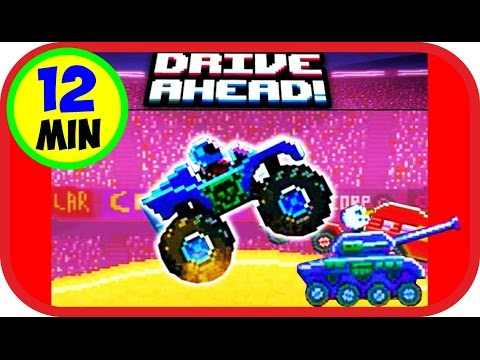 Drive AHEAD!🙌Веселая игра как мультик про машинки битва тачек видео для детей. Cartoon about cars