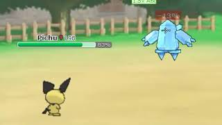 Pichu vs. Regice (Pokemon Showdown)