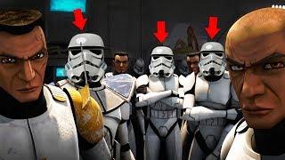 РЕАКЦИЯ КЛОНОВ НА ШТУРМОВИКОВ | Star wars