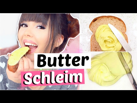 butter schleim selber machen diy viktoriasarina youtube. Black Bedroom Furniture Sets. Home Design Ideas