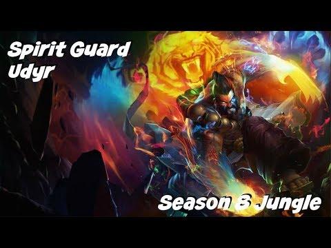 League of Legends: Spirit Guard Udyr Jungle Gameplay