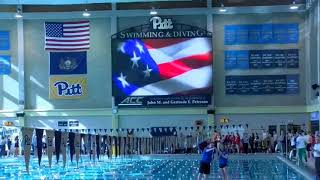 2018 WPIAL Class 2A Boys and Girls Swimming Championships - Day Two