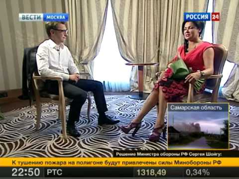 Anna Netrebko's interview on Russian TV, June 2013 (with English subtitles)