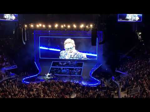 Eric Paulsen - Elton John's dedication to Ric Ocasek & Eddie Money during his SF concert