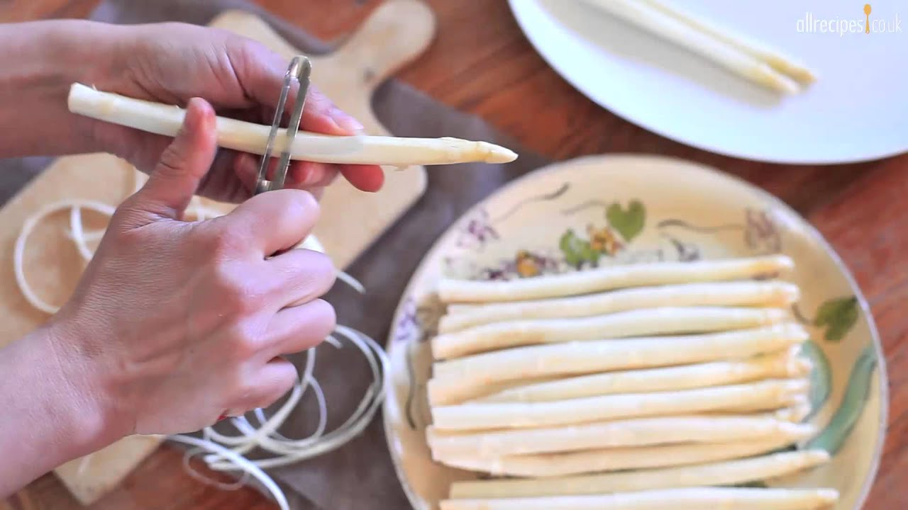 How To Cook White Asparagus Video