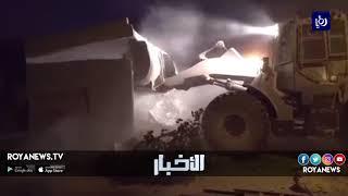 الاحتلال يهدم منزل عائلة الشهيد محمد طارق دار يوسف