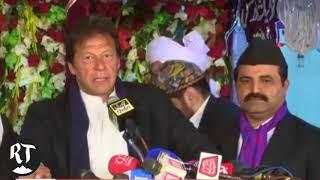 PTI Leader Imran Khan attends anti-Ahmadiyya conference