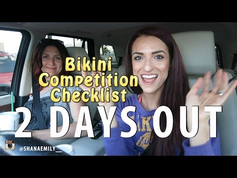2 Days Out, NPC Bikini Competition Checklist, Last Minute Shopping |NPC ATLANTIS Ep17|#SHANAEMILY