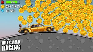 Hill Climb Racing - LUXURY CAR on HIGHWAY | GamePlay Walkthrough screenshot 3