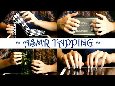 Pretty Nails ASMR Tapping, Mostly No Talking - Close Up For Sleep & Relaxation