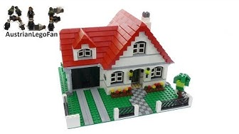 Lego Creator 4956 House - Lego Speed Build Review