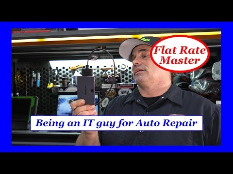 Being an IT guy for Auto Repair