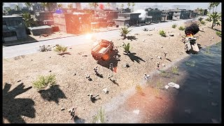 EPIC SQUAD BATTLE FROM ABOVE! Realistic & Tactical Competetive Event - Squad Ops Gameplay