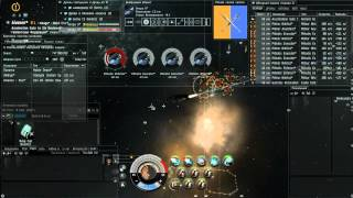 Eve Online SOLO PVE Gila vs DED 6\10 Gurista, Видео