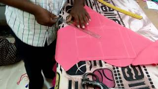 perfect blouse cutting in telugu by experience person