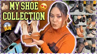MY SHOE COLLECTION! H&M, Zara, Sarojini Nagar & Shein (Boots, Sandals & More) | ThatQuirkyMiss