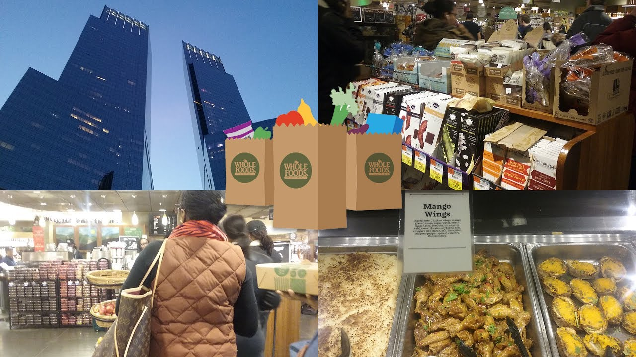 Whole Foods  Columbus Circle Nyc