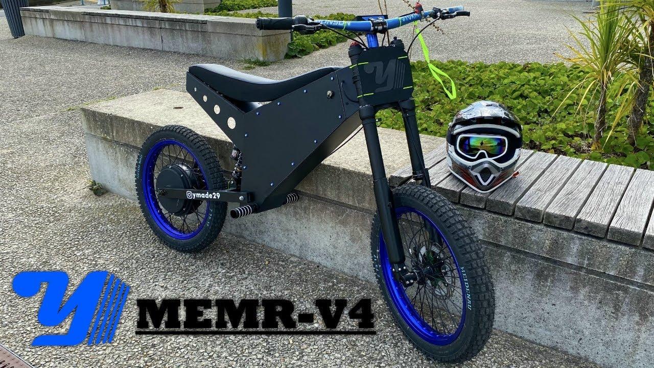 Nouvelle moto électrique 12,5ch (MEMR V4)