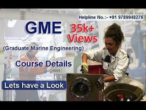 GME (Graduate Marine Engineering) | After B.tech Mechanical