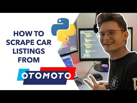 How to scrape car listings from Otomoto