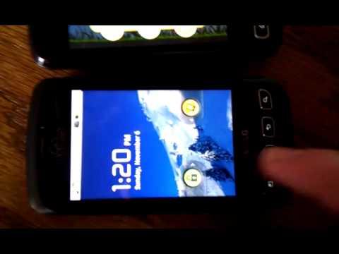 Angry Birds on LG Optimus Slider and Optimus V (Virgin Mobile)