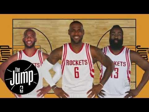 Lebron James to the Houston Rockets?