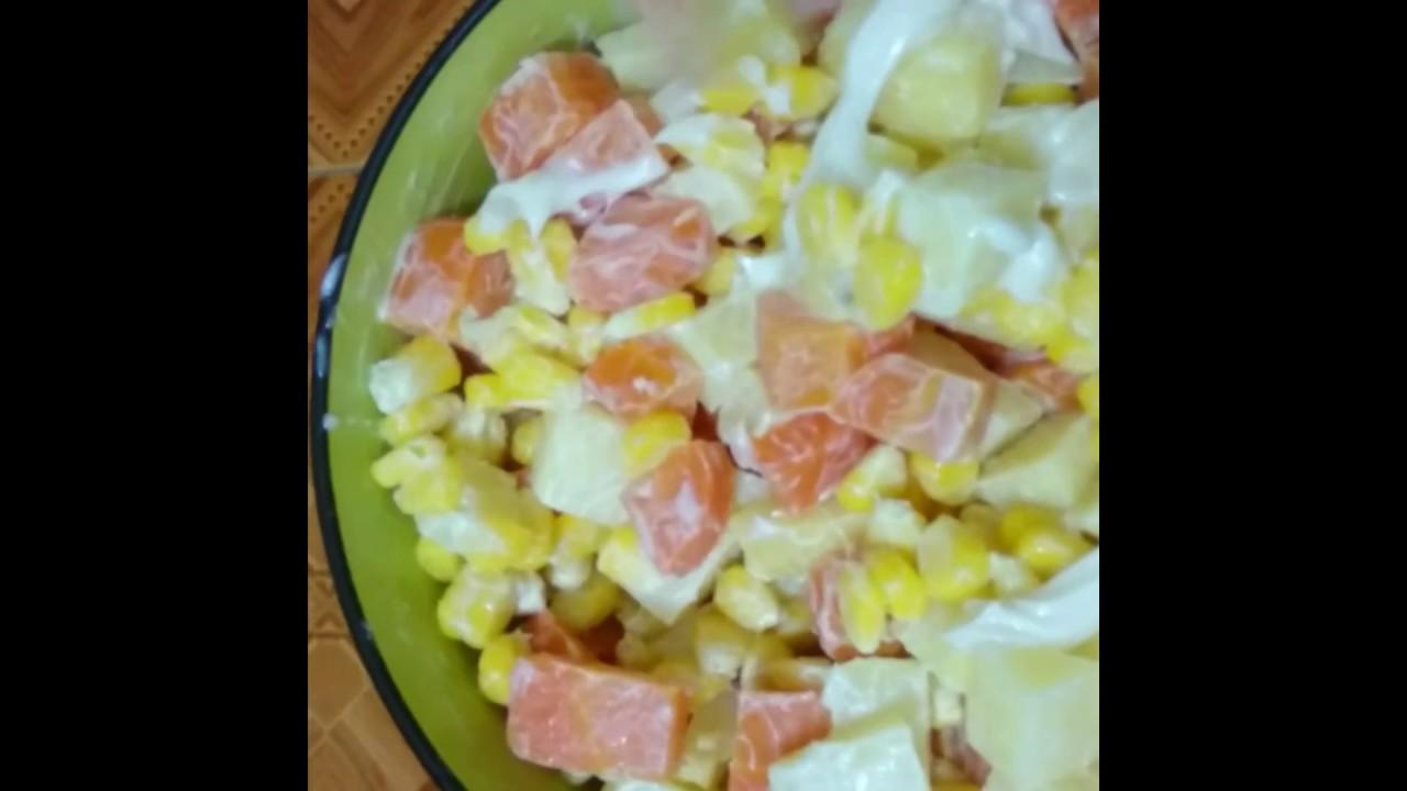 Salad khoai tây giảm cân    Ăn Vặt Phạm Gia