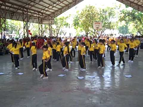 PNHS Foundation day - mass yell & cheer Sophomores