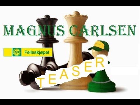 Magnus Carlsen - Felleskjøpet commercial TEASER