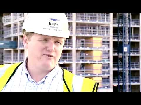 Scott Delaney, assistant construction manager, working in the UK construction industry