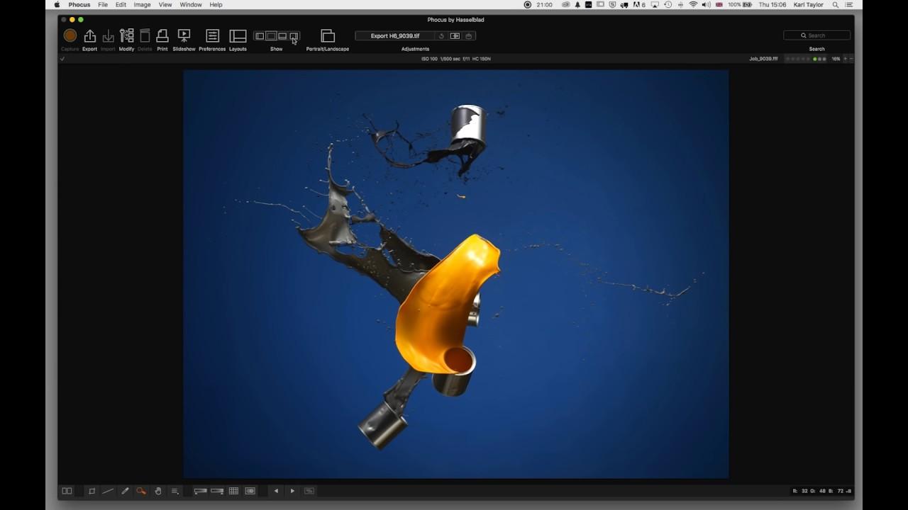 Phocus: Hasselblad Phocus Software [Interface Video Tutorial] | Karl
