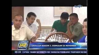 UNTV Cup Season 3, sisimulan sa November 17
