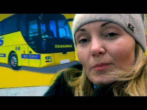 Эколайн ECOLINES автобусы. Поездка Киев-Москва 2016год. Сервис, таможня, условия.