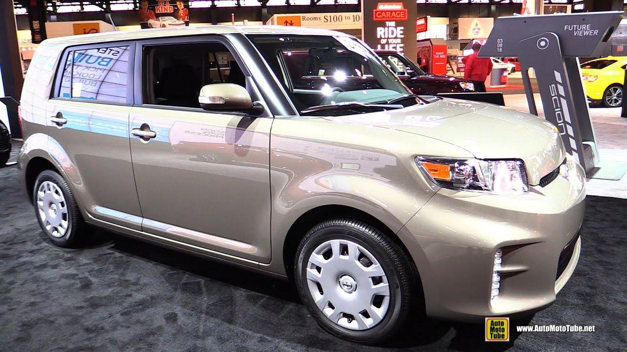 2015 Scion XB   Exterior And Interior Walkaround   2015 Chicago Auto Show    YouTube