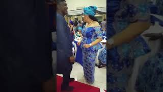 Wow! Our 2018 President &  First Lady Of Sierra Leone Dancing. So Adorable......