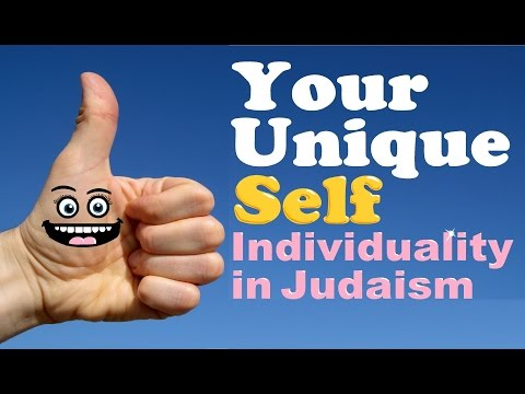 YOUR UNIQUE SELF: Individuality in Judaism, Rabbi Michael Skobac – Jews for Judaism (Torah, Shabbat)