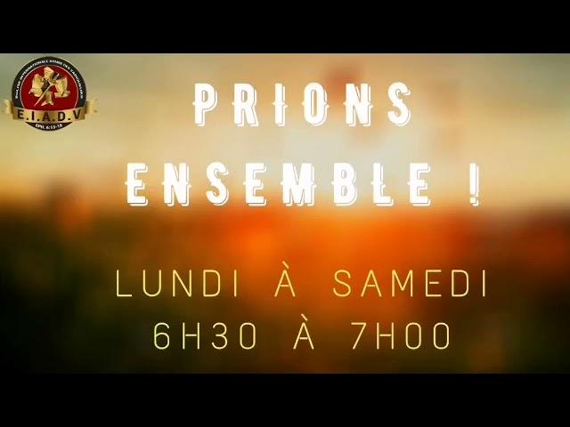 Prions ensemble - 21/04/21 - Pst. O. Sarr