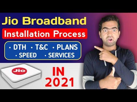 Jio Broadband Installation
