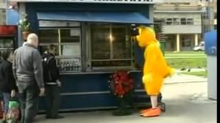 Атака клоунов  Цыпленок и гриль
