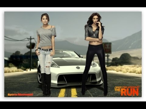 Need For Speed The Run Race With Two Hot Girls In HD