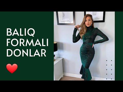 Baliq Donlar 2020 Baliq Etek Ziyafet Geyimleri Youtube