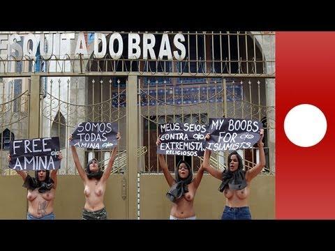 El colectivo feminista Femen amplía su radio de acción