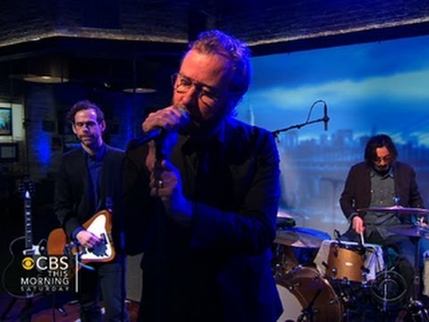 Grammy nominated group The National performs
