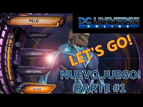 DC universe online ps4 | Probando el juego gratis gameplay español